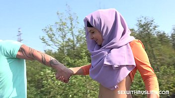 Czech teen muslim girl Mila Fox and her horny boyfriend were on a walk. Randy guy thinks only of sex. They enjoyed outdoor sex with a view of beautiful Prague. video