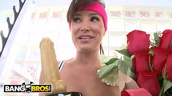 BANGBROS - Lisa Ann Receives Hottest MILF Award And Fucks Chris Strokes Thumb