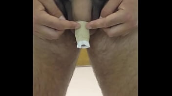 Penis scrotum removal - Still-on video complete