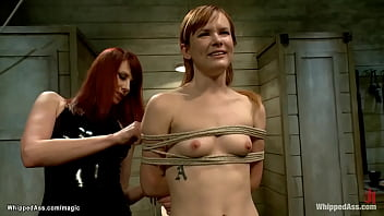 Bound Ginger Spanked And Ass Caned 5 Min