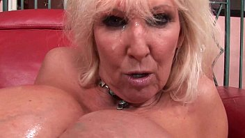 Older woman choke on cock Blow your load on her face and in her mouth