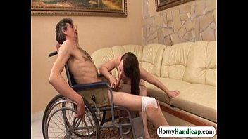 Interview questions of handicapped adult - Chubby brunette teen fucked doggystyle handicapped1