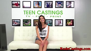 Casting teen squirting and hardfucking