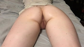 Filming Her PAWG Asshole
