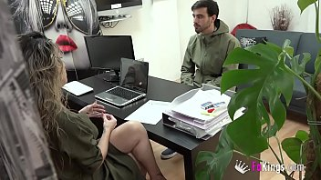 Horny boss and the the boys to fake job offerings. Helena wants it all!