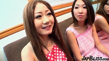 Horny Japanese Sluts In Amazing Foursome Action