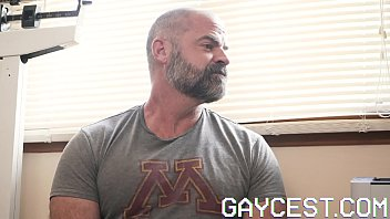 Gaycest - Dad Gets Horny Watching Son Get Fucked By Doctor