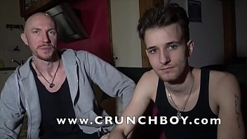 this is  KYLE a sexy french twink top how accept to fuck a sexy daddy for gay ponr shoot casting for Crunchboy studios