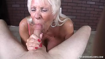 Mature love him cum - Mature milf loves his big load in her mouth