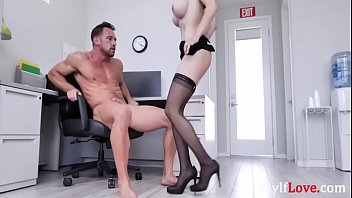 SEXY Lexi Luna Fucks Her Colleague In The Office