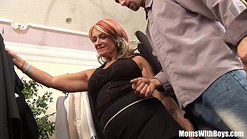 Mature women with young boys vids Old lady joanna depp fucks young boyfriend in dressing room