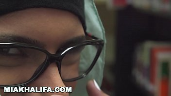 MIA KHALIFA - Up Close & Personal In The Library