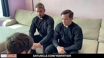 YesFather - Religious Boys Fucked By The Horny Priest