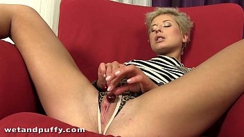 Deep pussy stuffing for her juicy cherry vagina