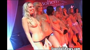 Fashion free lingerie show video Sexy girls showing off their hot bodies