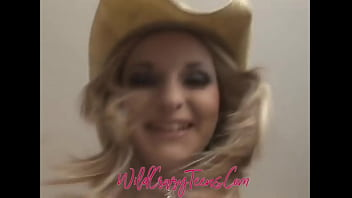 Blonde Teen Cowgirl Blessed w\/most PerfectTits You will EVER see!!