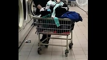 candid Milf in laundry