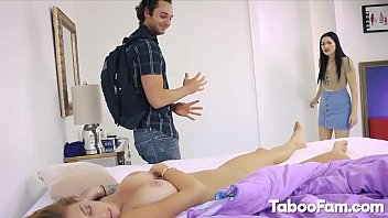 Karly Baker Sucks and Laid by Nice Dong Next to Stepmom