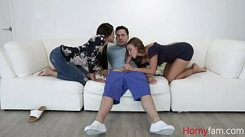 Lesbian Foster Mothers Love Son'_s Virgin Cock- Gia Vendetti And Havan Bleu