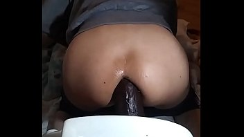 BANGING ME SELF OUT WITH BAM BBC DILDO
