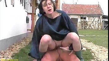 Ugly old nude body Extreme ugly grandma fucks grandson outdoor