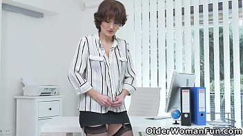 Milf secretary Alice Sharp will gladly show you her outstanding office skills (now available in Full HD 1080P). Bonus video: Euro milf Kathy White.