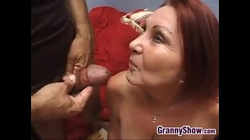 Sexy Granny Enjoying THis Hard Cock
