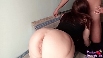 Babe Blowjob Dick StepBrother and Hard Pussy Fuck while Parents are not Home