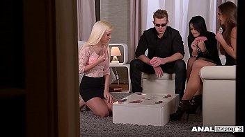 Anal inspectors get to see Aida Sweet & Candee Licious &