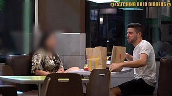 Colombian  BBW Gets Picked Up From McDonalds To Have The Best Sex Of Her Life