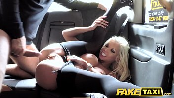 Pantyhose car videos Fake taxi hot estate agent gets creampied