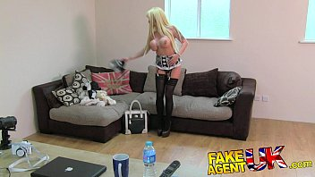 Lingerie large sizes uk Fakeagentuk glamour model turns cock jockey in fake casting