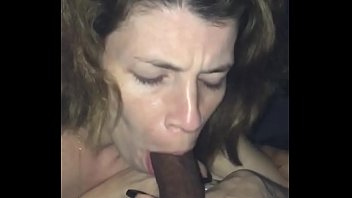 My new white girl Perfecting the art of sucking daddy's dick and even made me cum twice