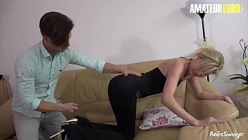 AMATEUR EURO - Lovely Sandra Exchange Some Sex Pleasure With Eager Guy