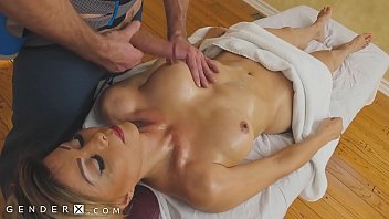 GenderX - Mature TS Woman Gets Erotic Massage