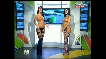 Nude news caters - Goluri si goale ep 12 miki si roxana romania naked news