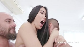Alina Crystal 2on1 Balls Deep Anal, DP, Gapes, Swallow GL053