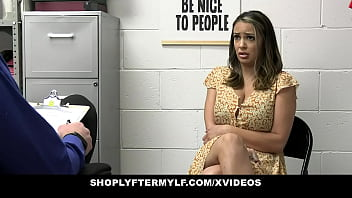 Thief Milf Sofi Ryan Taken To The Backroom For A Questioning