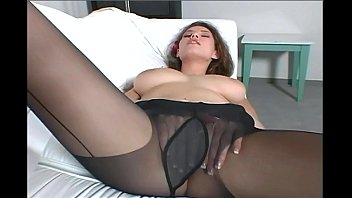 Jamie-lynn spears breast feeding Busty brunette milf teases in black pantyhose
