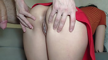 I love to play with my submissive stepdaughter while mom at the work