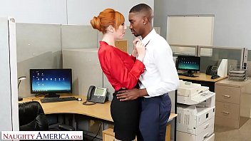 High def fuck Naughty america - new guy at work gets lucky with the bosses slutty wife