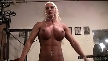 Mature female flex - Ashlee chambers naked female bodybuilder perfection