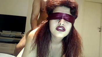 Blindfolded Wife Has NO idea BUT she FUCKED by Stranger ! صورة