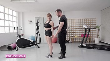 PORNBCN 4K The personal trainer fucker Emilio Ardana y Olé with the hot teen latina Pamela Silva and her big ass // Training with happy end full clip subtitled on YOUTUBE LINK in the VIDEO subscribe and click the bell because more are coming soon ;
