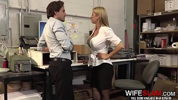 Dirty Cheating Female Boss Alexis Fawx Fucks The New Guy