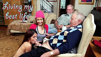 Girls love grandpa cock Blue pill men - old men living their best life with gigi flamez and sally squirt