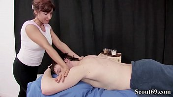 MOM STEFFI SEDUCE YOUNG GUY TO FUCK WITH MASSAGE