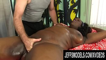 Hot naked model s Fat black lady heather mason enjoys a hot rubdown with some special toys