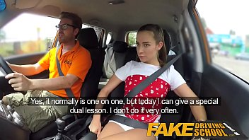 Bridget sloan fake nudes Fake driving school sexy horny learners secretly fuck in instructors car