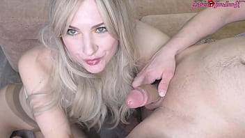 Horny Passion Passionately Sucks Lover's Big Dick On Cam
